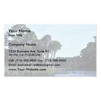 St. Vincent National Wildlife Refuge Freshwater La Business Card Templates