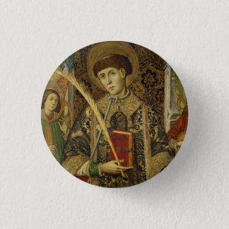 St. Vincent Saragossa Deacon & Martyr Button