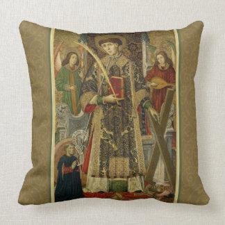 St. Vincent Saragossa Deacon-Martyr Pillow