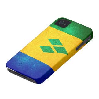 St. Vincent & the Grenadines Flag Case-Mate iPhone 4 Case