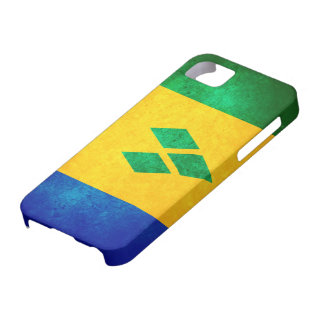 St. Vincent & the Grenadines Flag iPhone 5 Covers