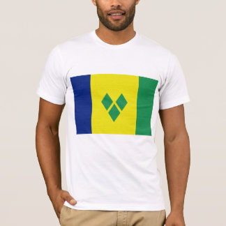 St Vincent & The Grenadines Flag T-Shirt