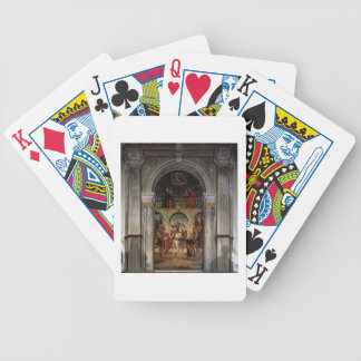 St. Vitalis and Saints Bicycle Playing Cards