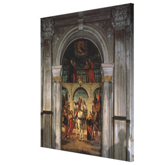 St. Vitalis and Saints Gallery Wrapped Canvas