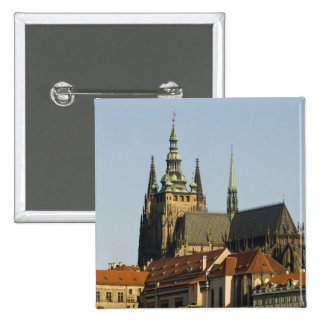 St. Vitus Cathedral and Prague Castle, one of Button