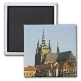 St Vitus Cathedral and Prague Castle one of Magnets