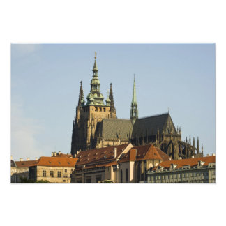 St. Vitus Cathedral and Prague Castle, one of Art Photo