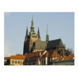 St. Vitus Cathedral and Prague Castle, one of Post Cards