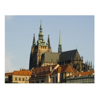 St. Vitus Cathedral and Prague Castle, one of Postcard