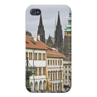 St. Vitus Cathedral Prague Castle Lamp iPhone 4 Cases