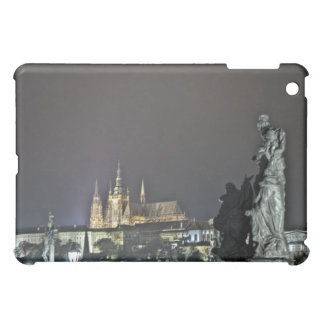 St. Vitus Cathedral Prague Castle Night Cover For The iPad Mini