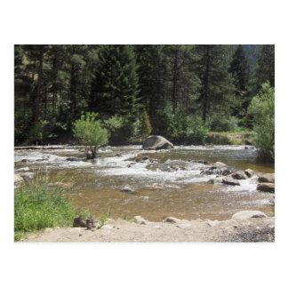 St Vrain River, Colorado Postcard