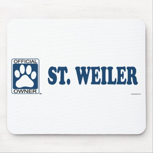 ST. WEILER_blue Mousepad