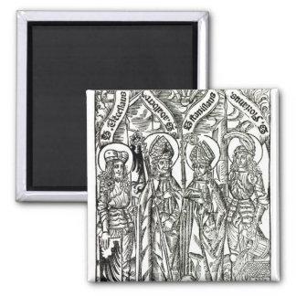 St. Wenceslaus, Adalbert, St. Florian de Stanislau Imán Cuadrado
