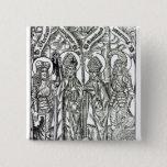 St. Wenceslaus, Adalbert,Stanislaus St. Florian Pinback Button