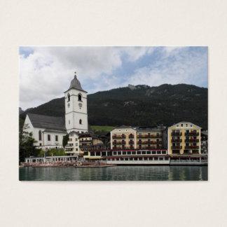 St.Wolfgang am Wolfgangsee, Salzburg Österreich Business Card