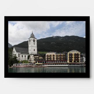 St.Wolfgang am Wolfgangsee, Salzburg Österreich Envelope