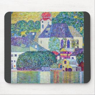 St. Wolfgang Church by Gustav Klimt Mouse Pad