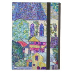 St. Wolfgang Church By Gustav Klimt, Victorian Art Ipad Air Cover at Zazzle