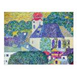 St. Wolfgang Church by Gustav Klimt, Victorian Art Post Cards