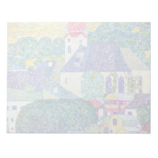 St Wolfgang Church by Klimt Notepad