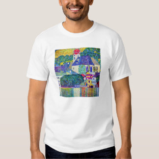 St Wolfgang church in Unterach on Lake Atter Klimt T-Shirt