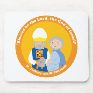 St. Zachary and St. Elizabeth Mouse Pad