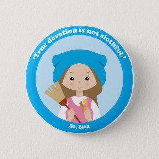 St. Zita Pinback Button