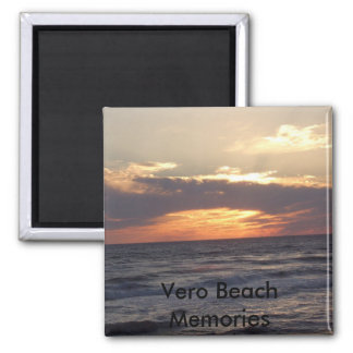 STA60639, Vero Beach Memories 2 Inch Square Magnet