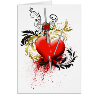 Stab in the Heart Card