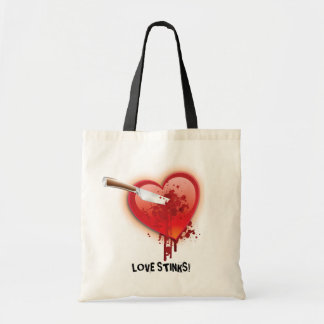 Stab Me in the Heart Anti-Valentines Tote Bag