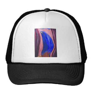 Stabat Mater Dolorosa Blue (  expressionism) Trucker Hat