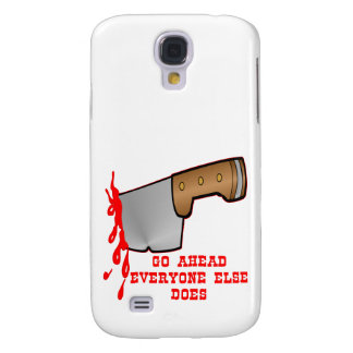 Stabbed By Knife In The Back Galaxy S4 Cases