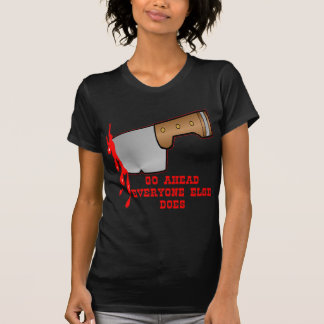 Stabbed By Knife In The Back Tshirt
