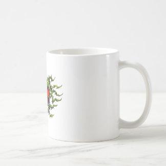 Stabbed in the heart coffee mug