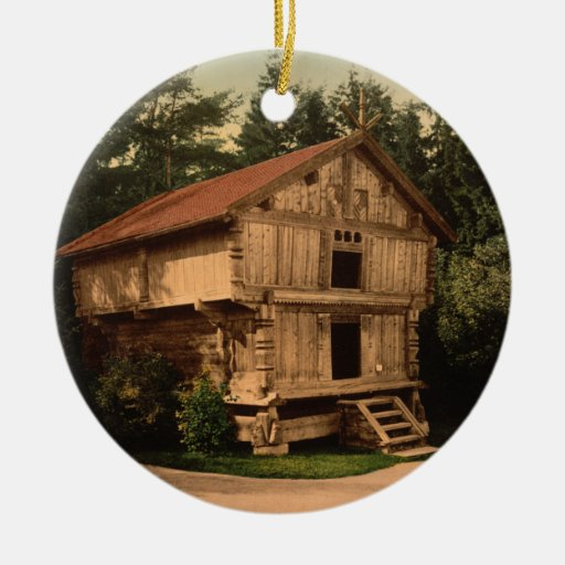 Stabbur, Oslo, Norway Christmas Tree Ornament