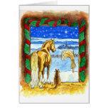 Stable_Christmas Greeting Card