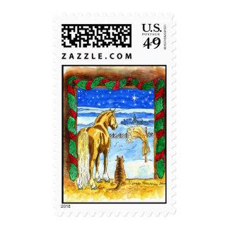 Stable Christmas Stamps