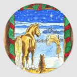 Stable Christmas Stickers