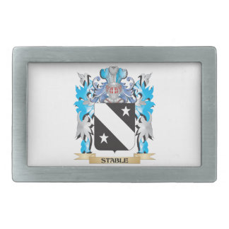 Stable Coat of Arms - Family Crest Belt Buckles