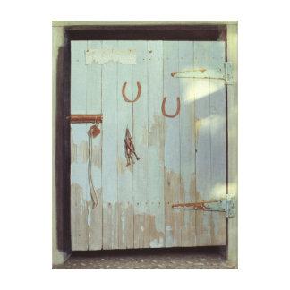 Stable Door 1990 Canvas Print