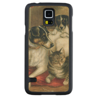 Stable friends carved maple galaxy s5 slim case