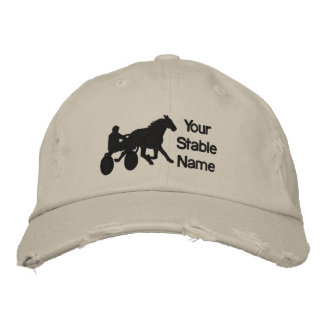 Stable Hat Embroidered Baseball Caps