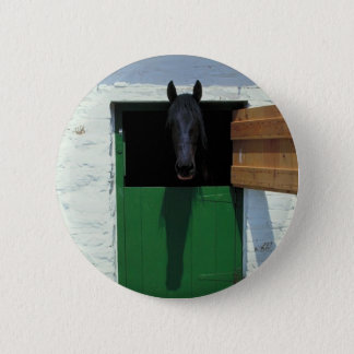 Stabled Horse with French Door Button