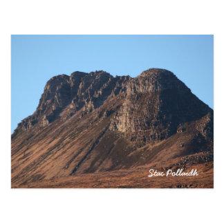 Stac Pollaidh Scotland Postcard