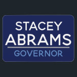 """Stacey Abrams for GA GOVERNOR car magnet :)<br><div class=""""desc"""">You go,  Stacey! All proceeds will be donated to the Stacey Abrams campaign!</div>"""