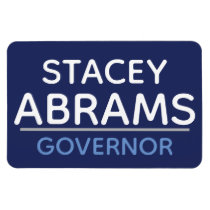 Stacey Abrams for GA GOVERNOR car magnet :)