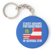 Stacey Abrams for Governor of Georgia 2018 Keychain