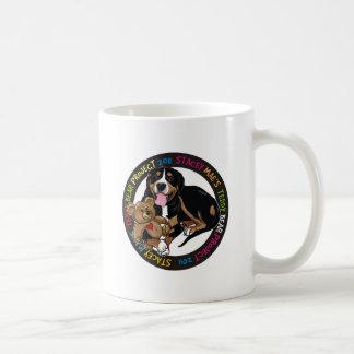 Stacey Mae Teddy Bear Coffee Mugs