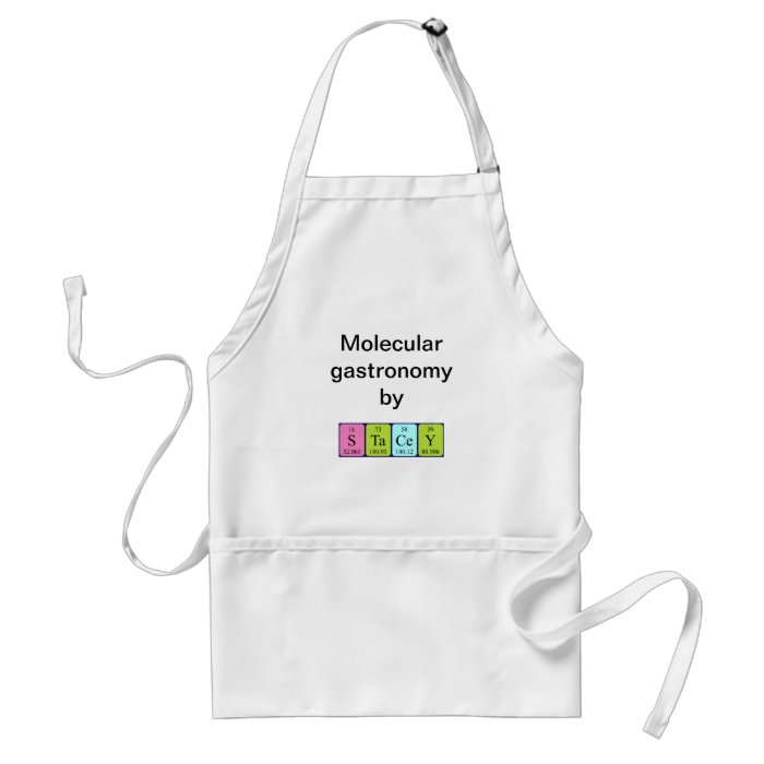 Stacey periodic table name apron